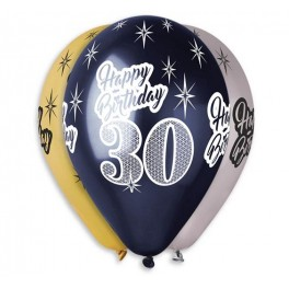 BALONY PREMIUM 30 HAPPY BIRTHDAY
