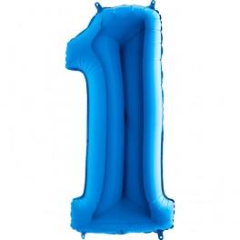 """BALON FOLIOWY BLUE 1-40"""""""