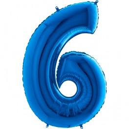 """BALON FOLIOWY BLUE 6-40"""""""
