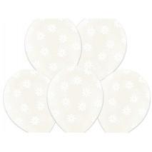 Balony Kwiatki Crystal Clear-50szt